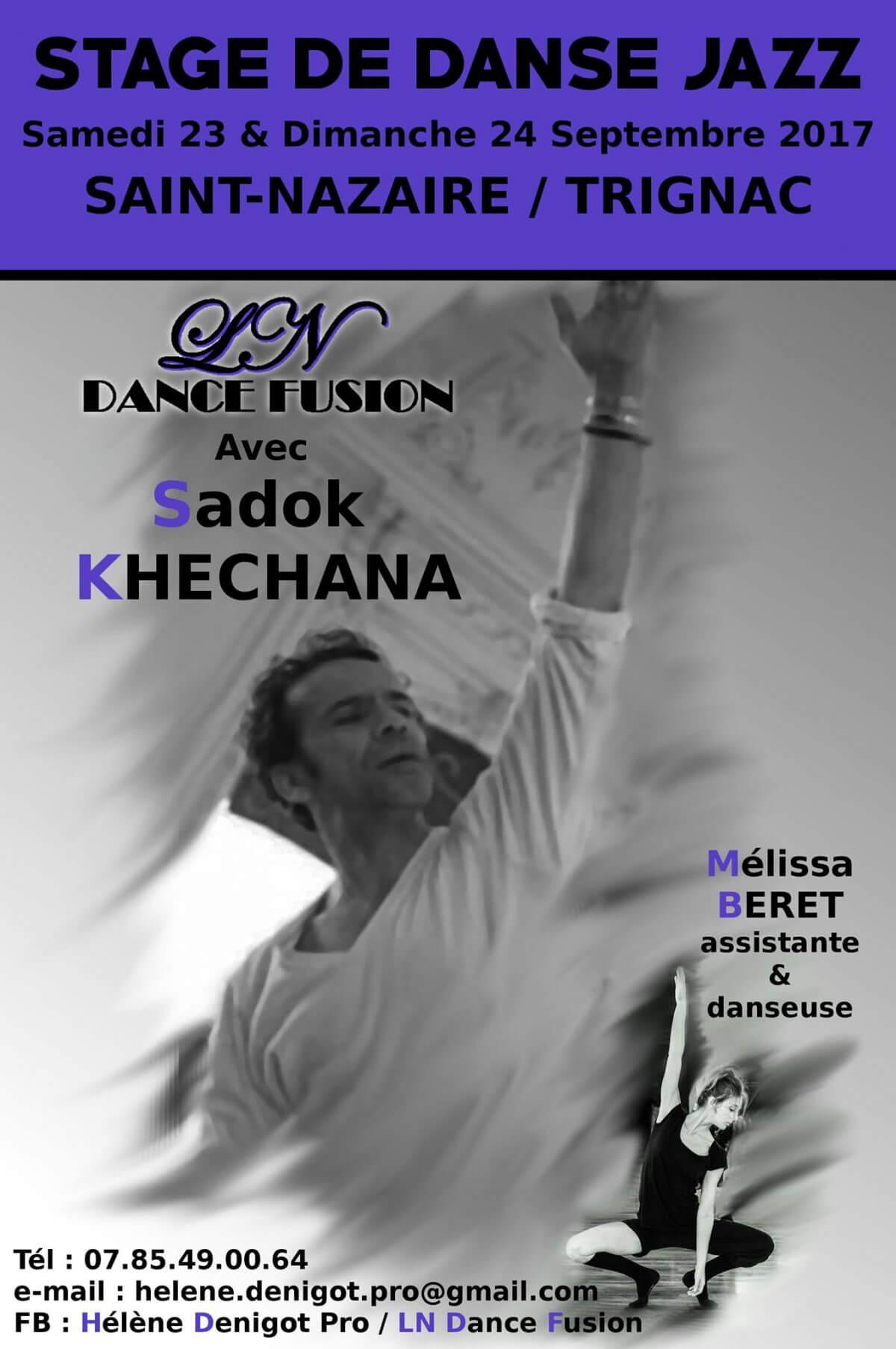 Stage de danse du 23 au 24 Septembre 2017
