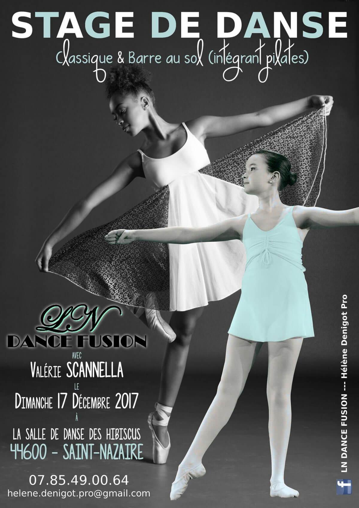 Stage de danse du 17 Décembre 2017
